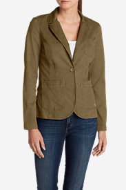 Women's Legend Wash Stretch Blazer in Brown