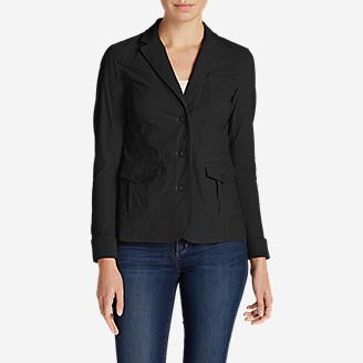 Women's Voyager Blazer in Black