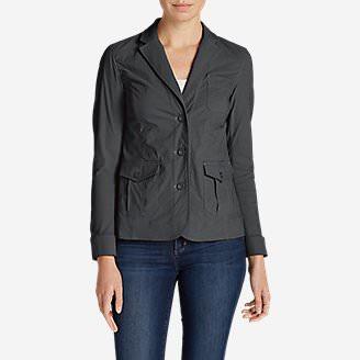 Women's Voyager Blazer in Gray