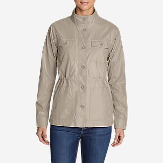Women's Scouting Jacket in Beige