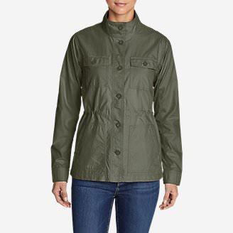 Women's Scouting Jacket in Green