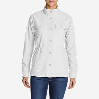 Women's Scouting Jacket in White
