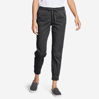 Women's Kick Back 2.0 Jogger Pants w/Zip Pocket in Gray