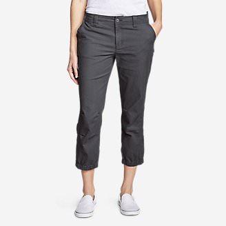 Women's Adventurer Ripstop 2.0 Slim Crop Pants in Gray