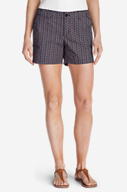 Women's Willit Poplin Shorts - Print in Blue