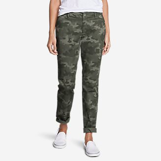 Women's Stretch Legend Wash Pants - Boyfriend in Green