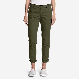 Women's Legend Wash Stretch Pants - Boyfriend in Green
