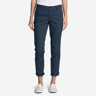 Women's Legend Wash Stretch Pants - Boyfriend in Blue