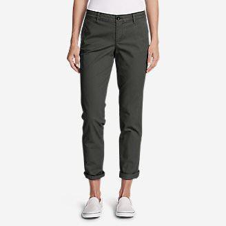 Women's Legend Wash Stretch Pants - Boyfriend in Gray