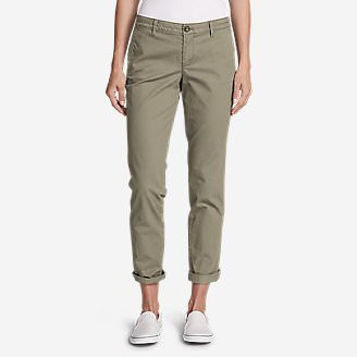 Women's Legend Wash Stretch Pants - Boyfriend in White