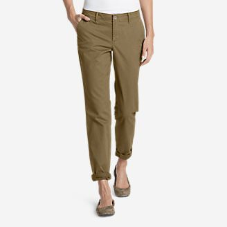 Women's Legend Wash Stretch Pants - Boyfriend in Brown
