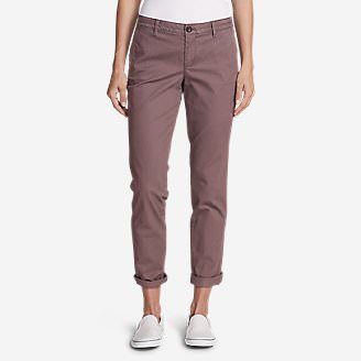 Women's Legend Wash Stretch Pants - Boyfriend in Red