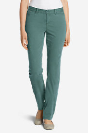 Women's Legend Wash Stretch Pants - Curvy Fit in Blue