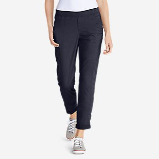 Women's Kick Back Twill Pants in Blue