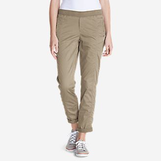 Women's Kick Back Twill Pants in White