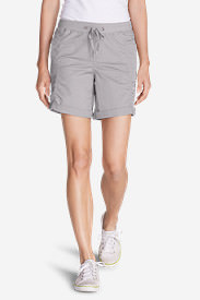 Women's Kick Back Twill Shorts in Gray