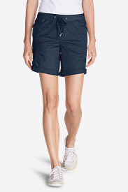 Women's Kick Back Twill Shorts in Blue