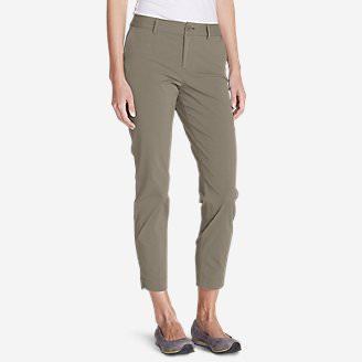 Women's Voyager Ankle Pants in Beige