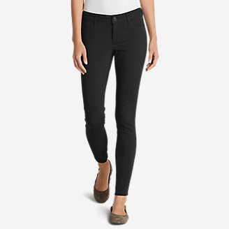 Women's Elysian Twill Skinny Jeans - Slightly Curvy in Black
