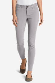 Women's Elysian Twill Skinny Jeans - Slightly Curvy in Gray