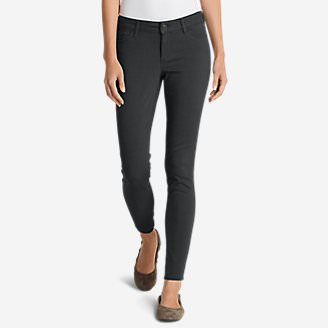 Women's Elysian Twill Skinny Jeans - Slightly Curvy in Gray