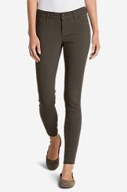 Women's Elysian Twill Skinny Jeans - Slightly Curvy in Beige
