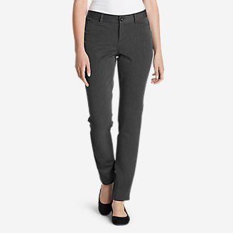 Women's Travel Pants - Curvy in Gray