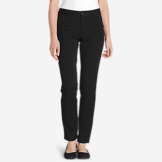 Women's Travel Pants - Curvy in Black
