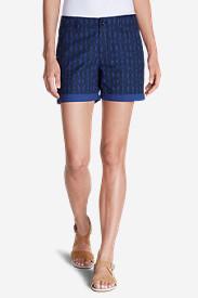 Women's Willit Poplin Shorts - Print in Blue