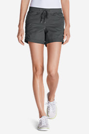 Women's Kick Back 5' Twill Shorts in Gray