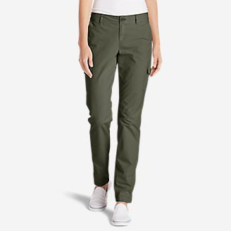 Women's Adventurer® Stretch Ripstop Cargo Pants - Slightly Curvy in Green