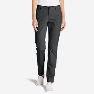 Women's Adventurer Stretch Ripstop Cargo Pants - Slightly Curvy in Gray