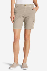 Women's Adventurer® Stretch Ripstop Cargo Shorts - Slightly Curvy in White