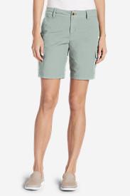 Women's Adventurer® Stretch Ripstop Cargo Shorts - Slightly Curvy in Green