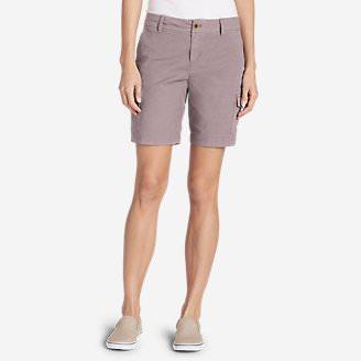 Women's Adventurer® Stretch Ripstop Cargo Shorts - Slightly Curvy in Red