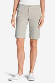 Women's Adventurer® Stretch Ripstop Bermuda Shorts - Slightly Curvy in Beige