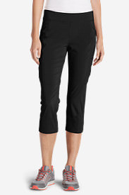 Women's Incline Capri Pants in Black