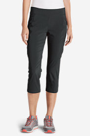 Women's Incline Capri Pants in Gray
