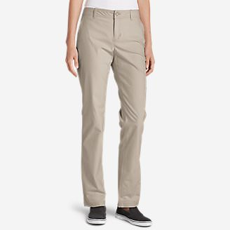 Women's Adventurer Stretch Ripstop Pants - Slightly Curvy in Beige