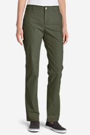 Women's Adventurer® Stretch Ripstop Pants - Slightly Curvy in Green