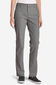 Women's Adventurer® Stretch Ripstop Pants - Slightly Curvy in Gray