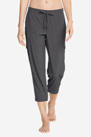 Women's Trail Seeker Crop Cargo Pants in Gray