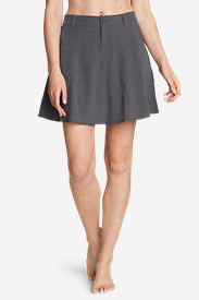 Women's Trail Seeker Skort in Gray