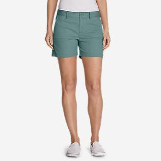 Women's Willit Legend Wash Stretch Shorts - 5' in Blue