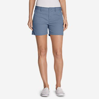 Women's Willit Stretch Legend Wash Shorts - 5' in Blue