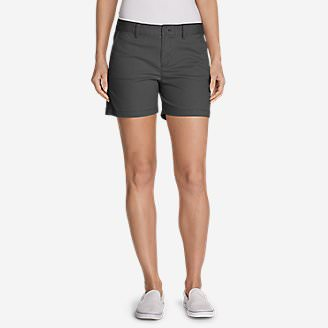 Women's Willit Legend Wash Stretch Shorts - 5' in Gray