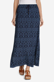 Women's Four Winds Skirt in Blue