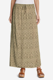 Women's Four Winds Skirt in Beige