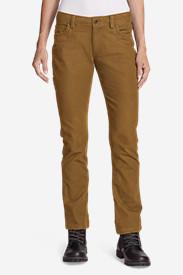Women's Mountain Jeans in Brown