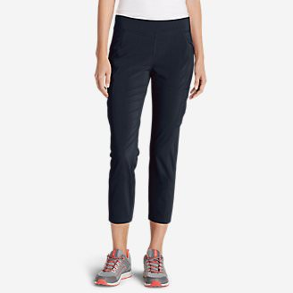 Women's Incline Crop Pants in Blue